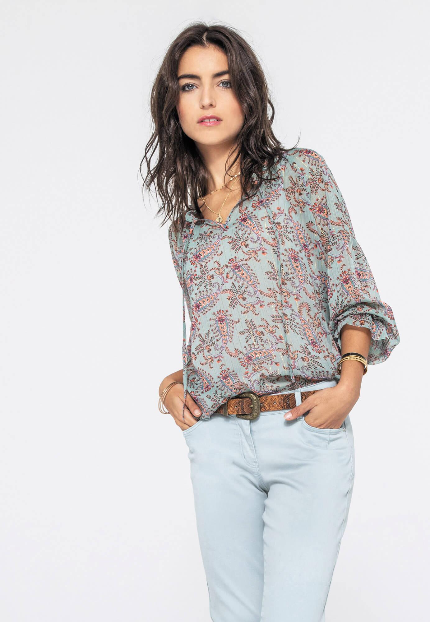 La blouse ou chemise fluide
