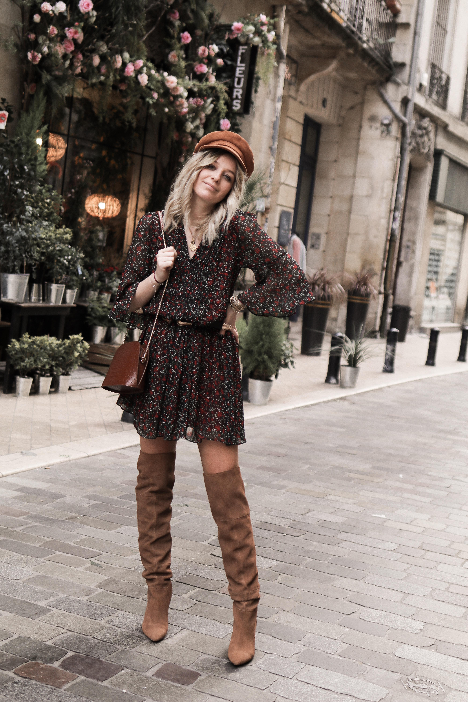 la blogueuse Chlosertoyou porte notre robe sensible