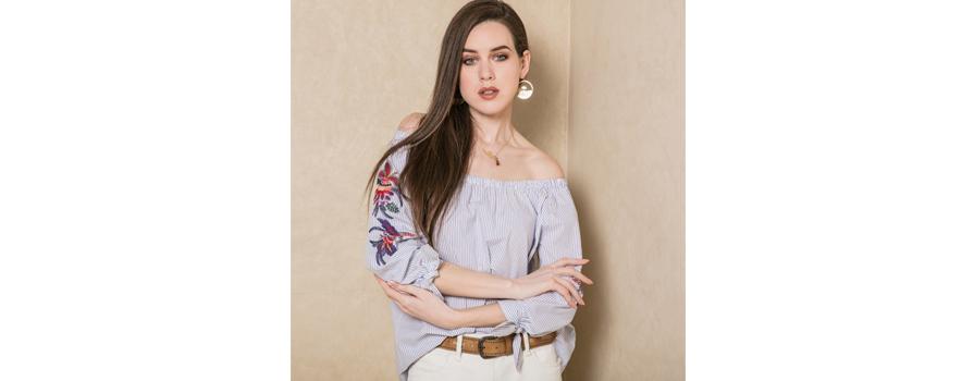 elora-blouse-épaules-rayures-été